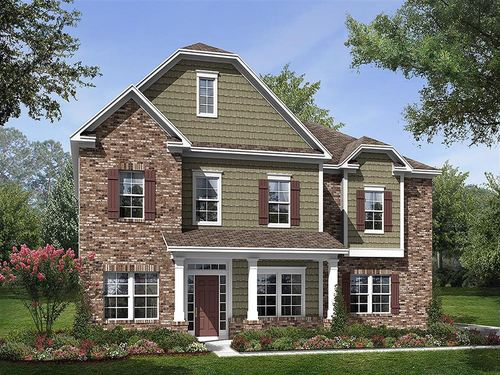 Tuscany Signature Collection by Ryland Homes in Charlotte North Carolina