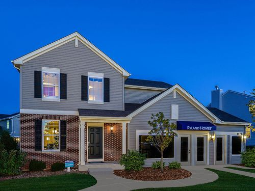 Orchard Prairie North by Ryland Homes in Chicago Illinois