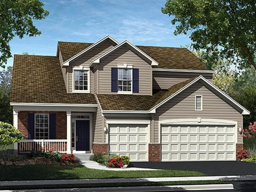 house for sale in Gilberts Town Center Centennial Series by Ryland Homes