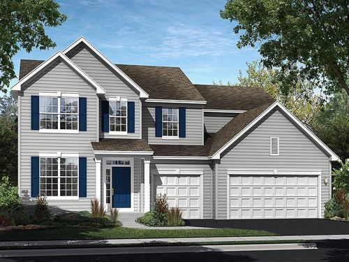 Ingham Park by Ryland Homes in Chicago Illinois