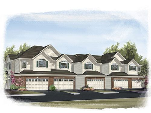 Talamore Townhomes by Ryland Homes in Chicago Illinois