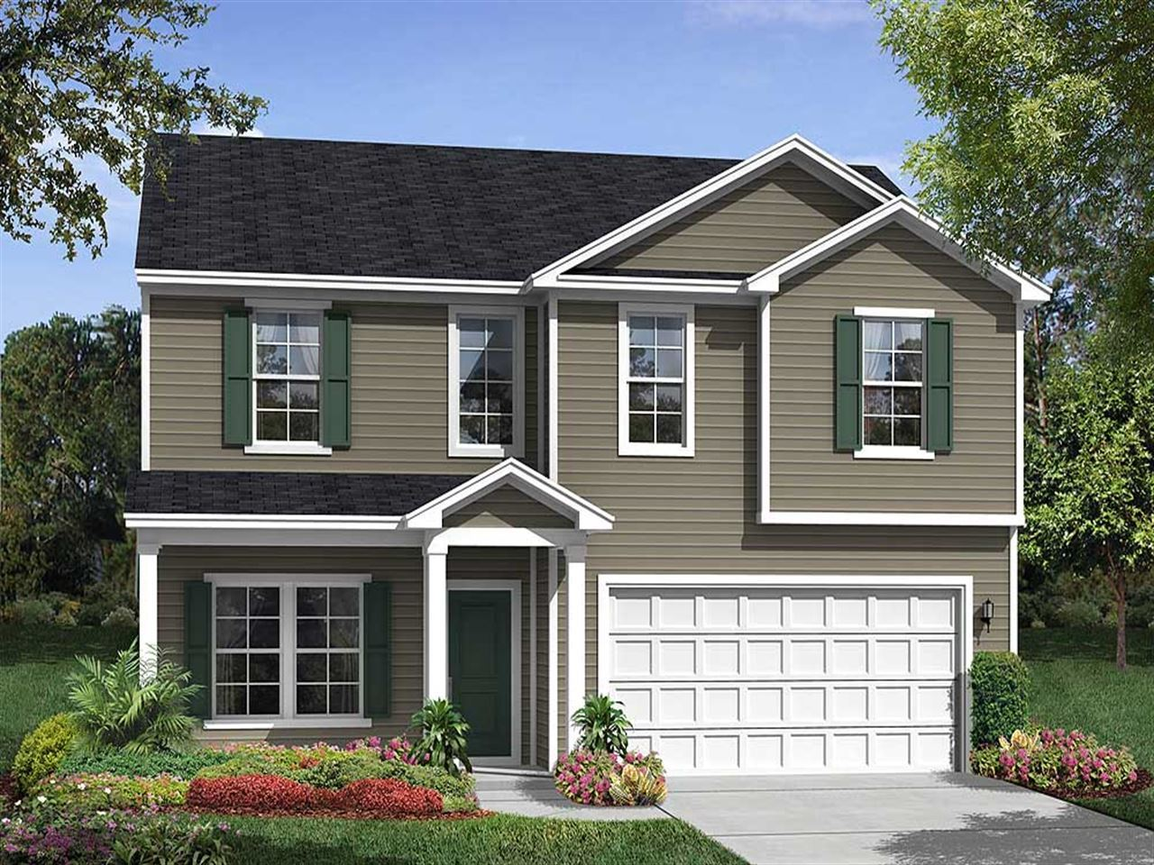 Ryland Homes Tupelo Forest Pendleton II 1046478 Awendaw SC New