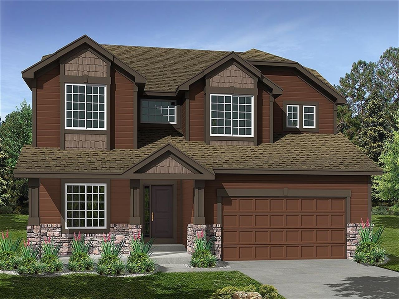 The Cabernet - Pioneer Ridge: Johnstown, CO - Ryland Homes