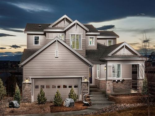 McClelland's Creek Perspectives 4000's by Ryland Homes in Fort Collins-Loveland Colorado