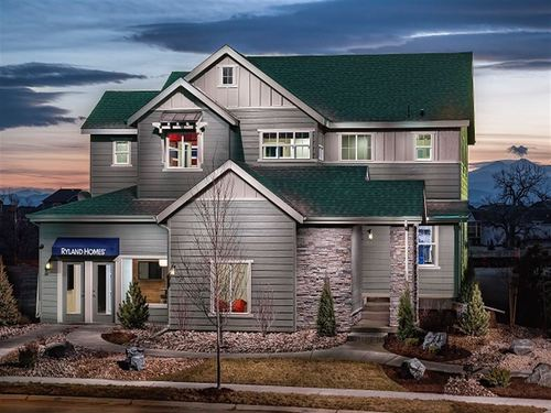 McClelland's Creek Perspectives 5000's by Ryland Homes in Fort Collins-Loveland Colorado