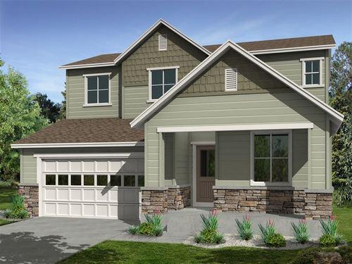 Candelas Perspectives 4000's by Ryland Homes in Denver Colorado