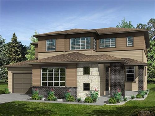 Kings Ridge Perspectives 5000's by Ryland Homes in Denver Colorado