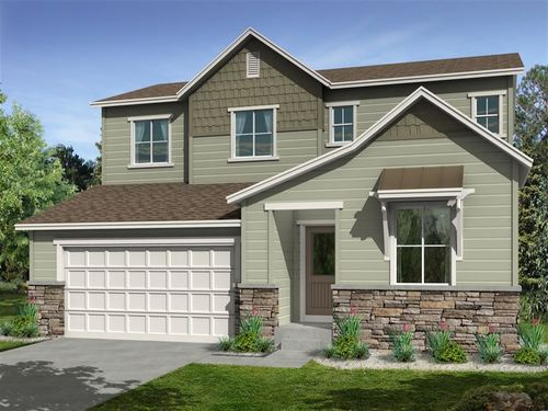Coal Creek Village North Perspectives 4000's by Ryland Homes in Boulder-Longmont Colorado