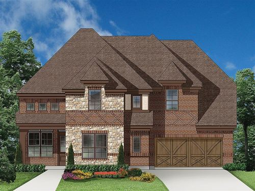 Village Park by Ryland Homes in Dallas Texas