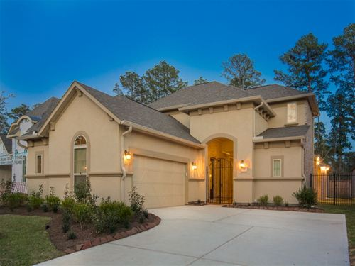 The Woodlands - Concerto Courtyard by Ryland Homes in Houston Texas