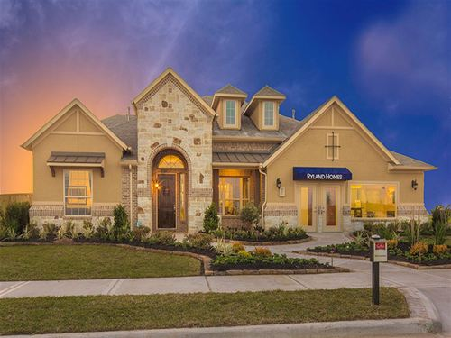 Long Meadow Farms 70 Concerto by Ryland Homes in Houston Texas