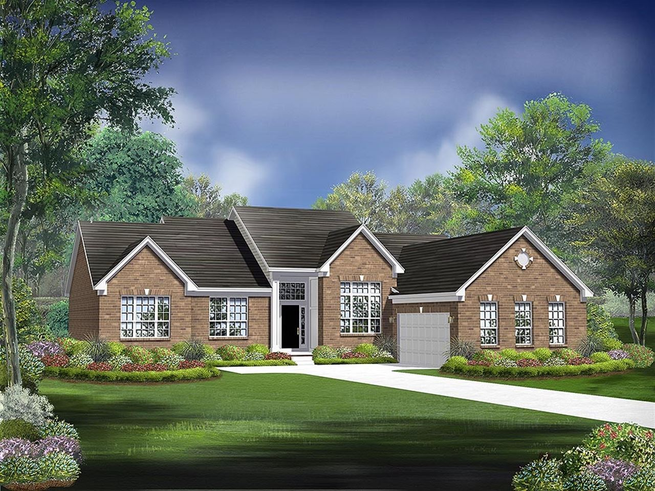 Carrington - Windridge Landing: Brownsburg, IN - Ryland Homes