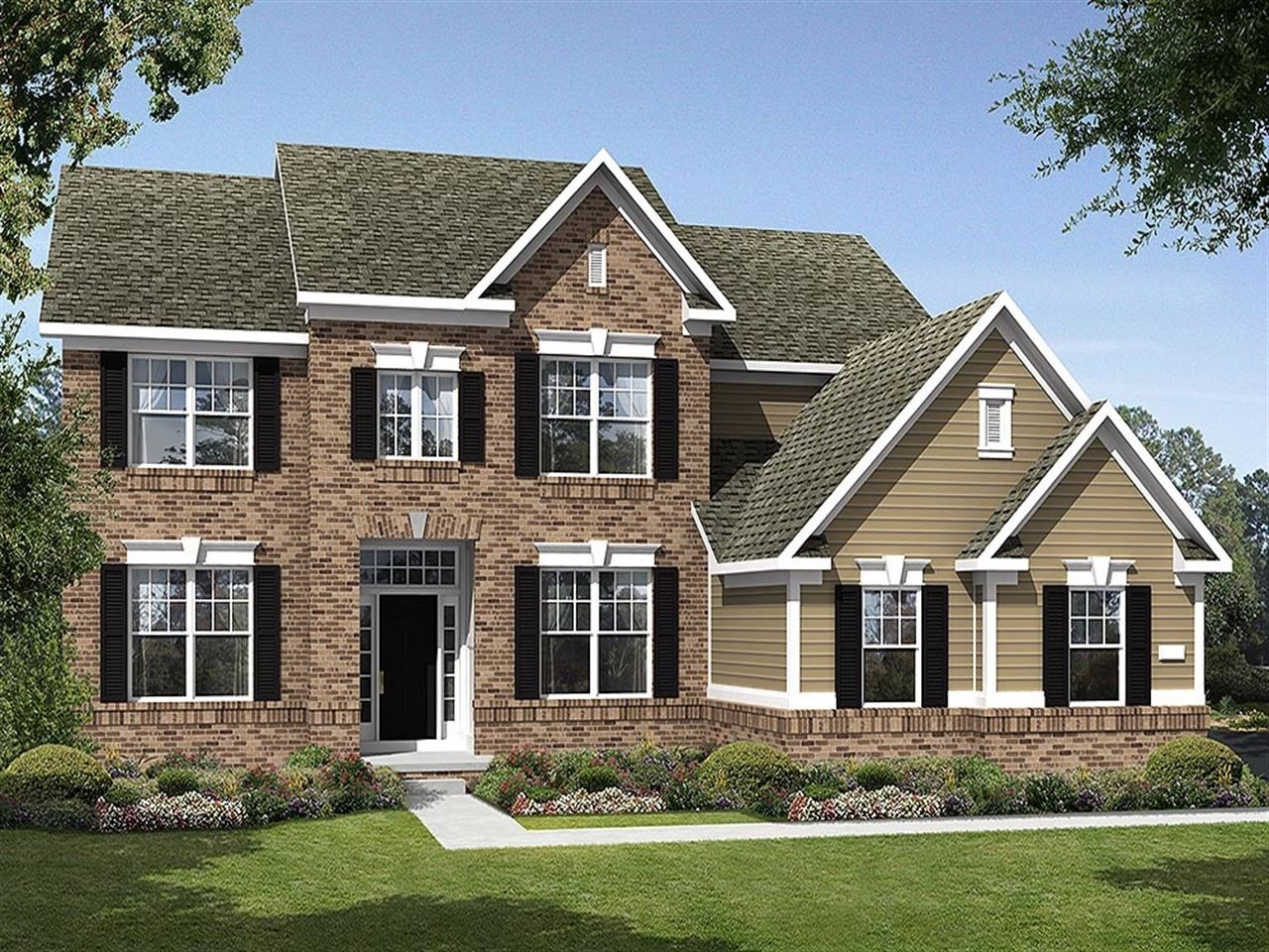 Westchester - Windridge Landing: Brownsburg, IN - Ryland Homes