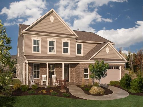 Chapel Woods Homestead by Ryland Homes in Indianapolis Indiana