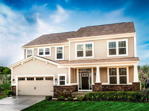 The Preserve at South Lake by Ryland Homes in Indianapolis Indiana