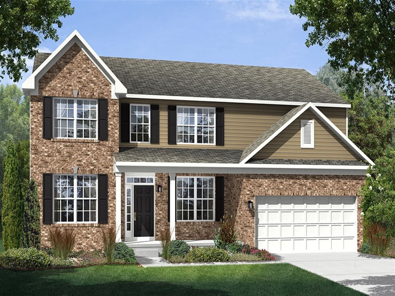 Columbia - Twin Oaks: Noblesville, IN - Ryland Homes