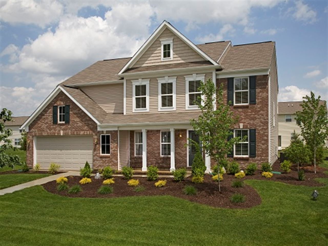 Columbia - The Lakes at Sugar Grove: Plainfield, IN - Ryland Homes