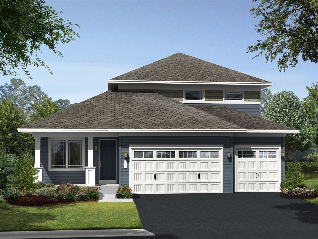 Everley - Parkside at Legacy Creek: Blaine, MN - Ryland Homes