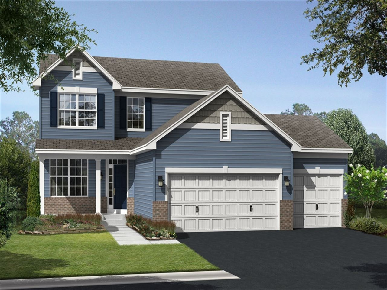 Stockholm - Parkside at Legacy Creek: Blaine, MN - Ryland Homes