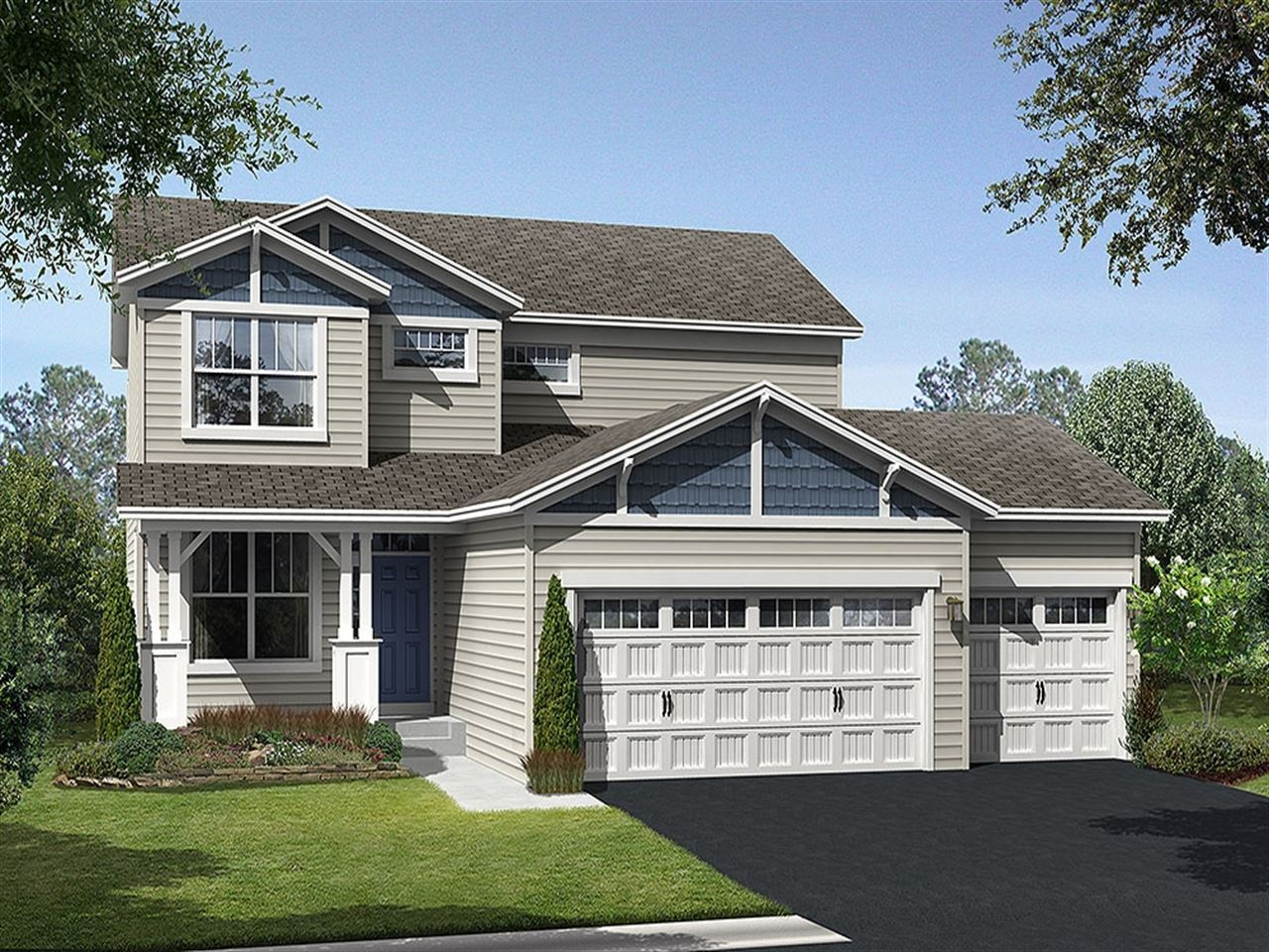 Bristol - Parkside at Legacy Creek: Blaine, MN - Ryland Homes