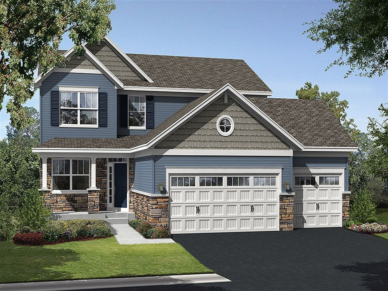 Springfield - Lake Wassermann Ridge: Victoria, MN - Ryland Homes