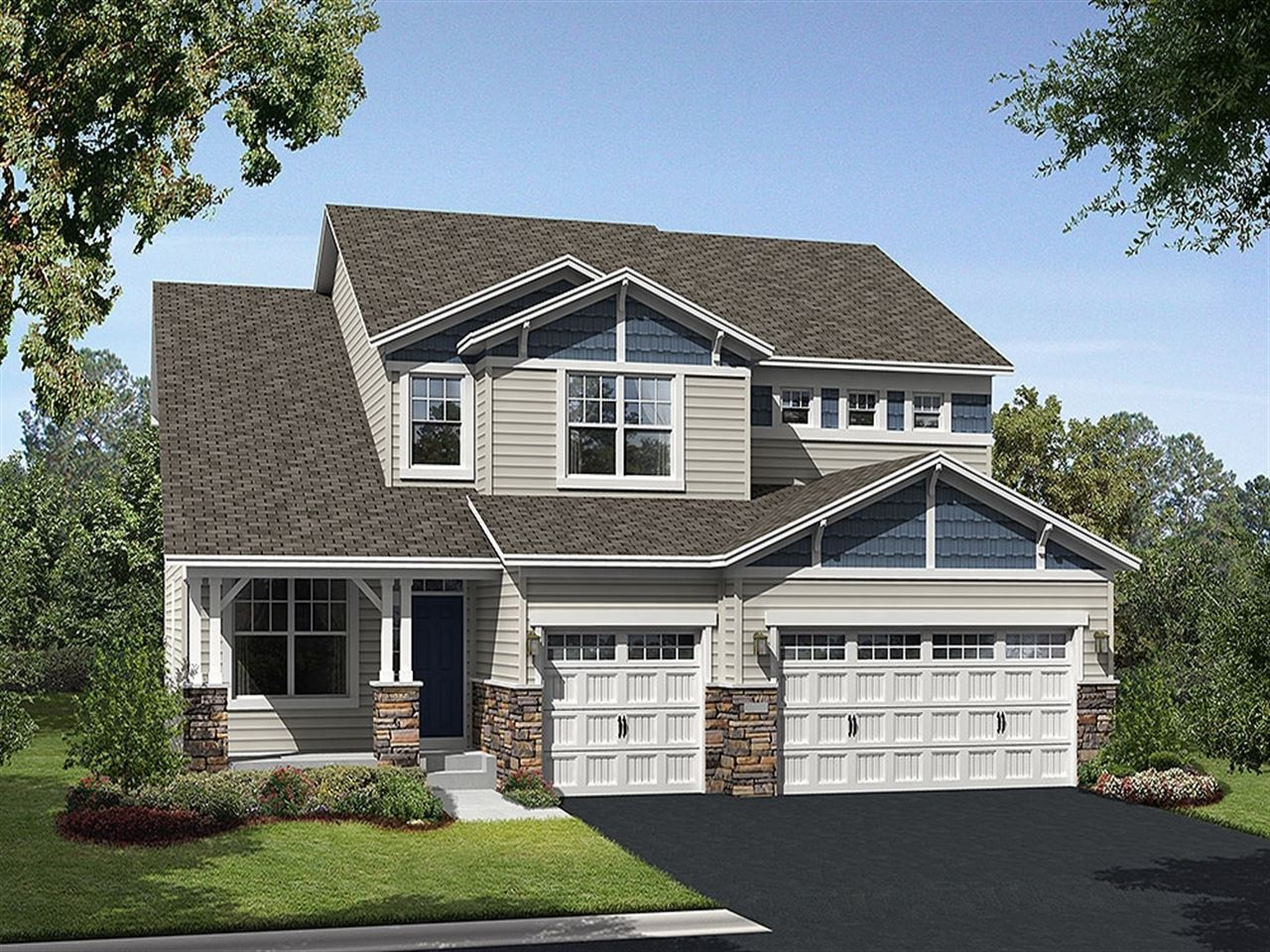 Linden - Lake Wassermann Ridge: Victoria, MN - Ryland Homes