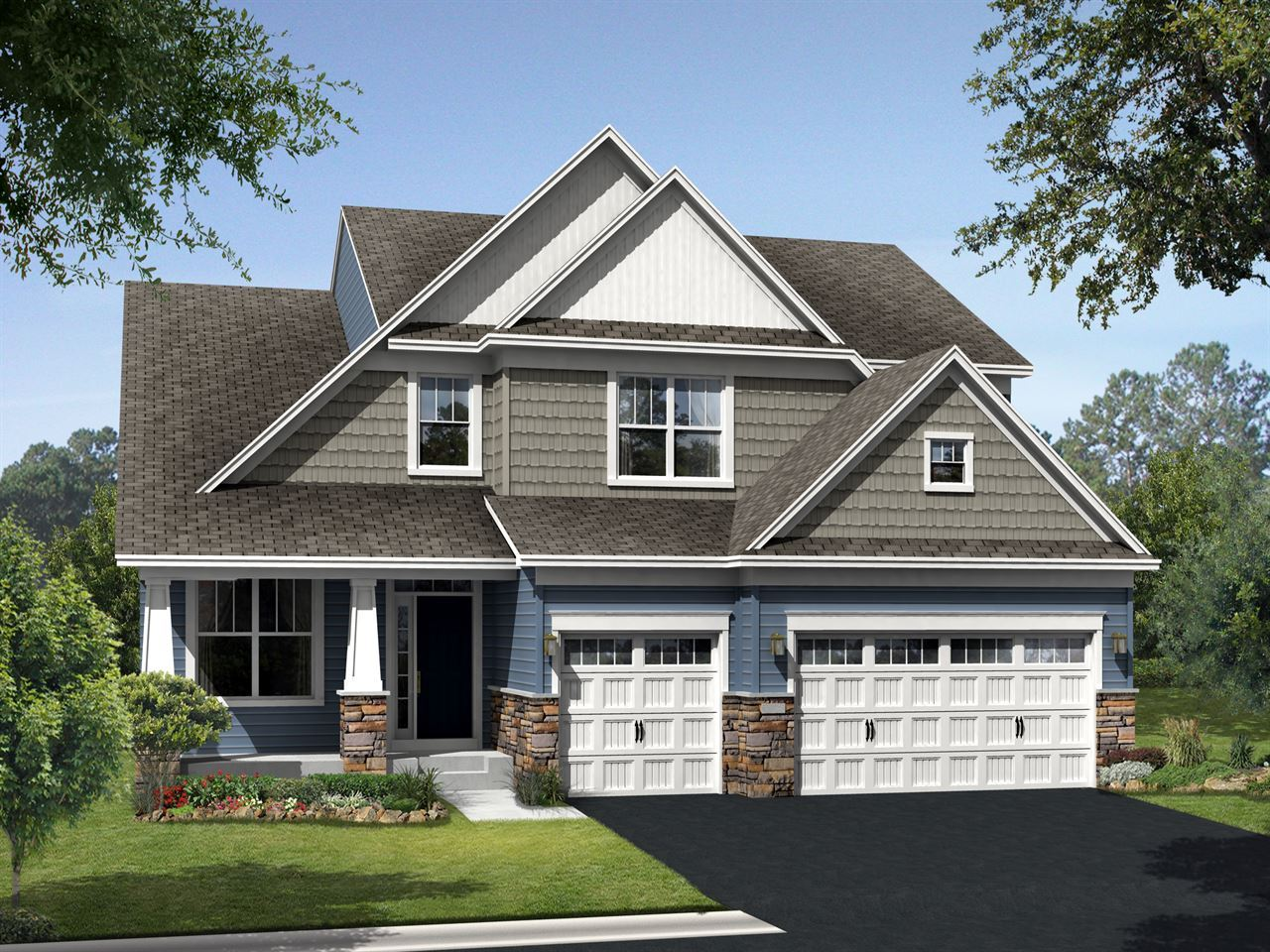 Kensington - The Preserve at Legacy Creek: Blaine, MN - Ryland Homes