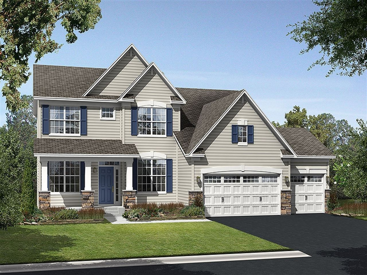 Manchester - The Preserve at Legacy Creek: Blaine, MN - Ryland Homes