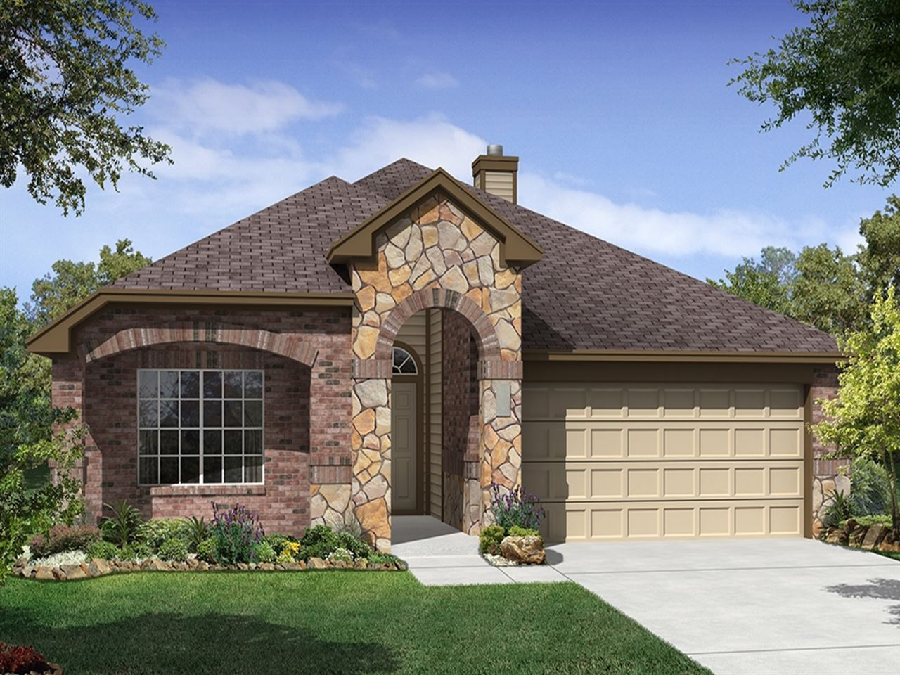 Branson - Enclave at Turning Stone: Cibolo, TX - Ryland Homes