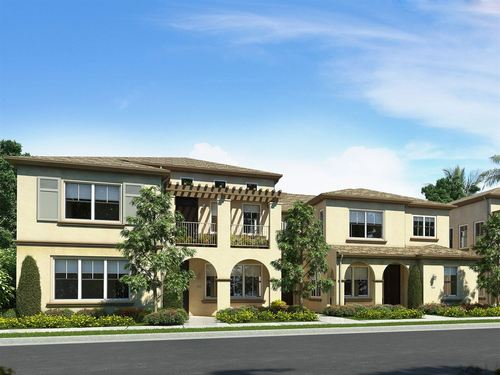 Acacia at Cypress Village by Ryland Homes in Orange County California