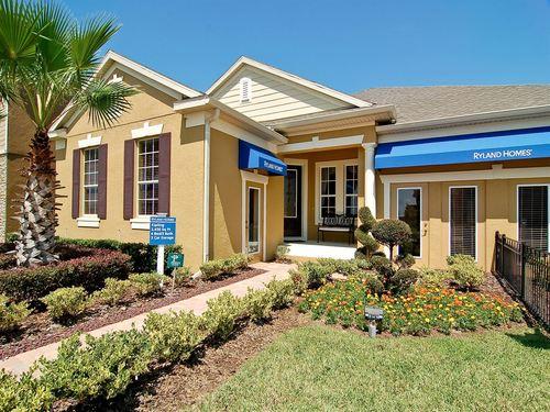 Waterside Pointe Estate by Ryland Homes in Orlando Florida
