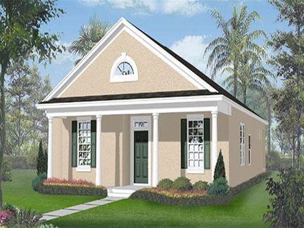 Hanover - Waterside Pointe Verandah: Groveland, Florida - Ryland Homes