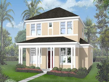 Georgetown - Waterside Pointe Verandah: Groveland, Florida - Ryland Homes