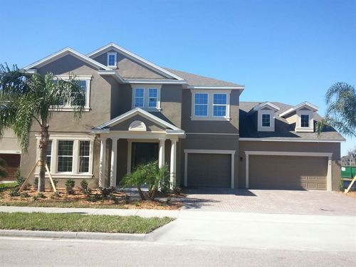 Summerport Lakefront Homes by Ryland Homes in Orlando Florida