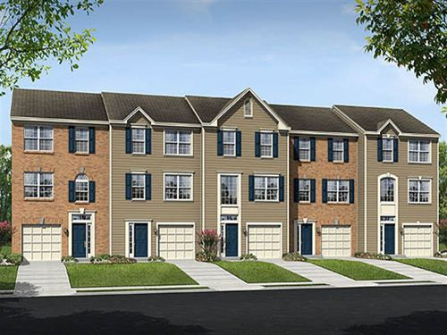 Marriott's Choice Townhomes by Ryland Homes in Baltimore Maryland