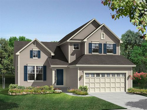 Beech Creek 2 Car Garage Single Family Homes by Ryland Homes in Baltimore Maryland