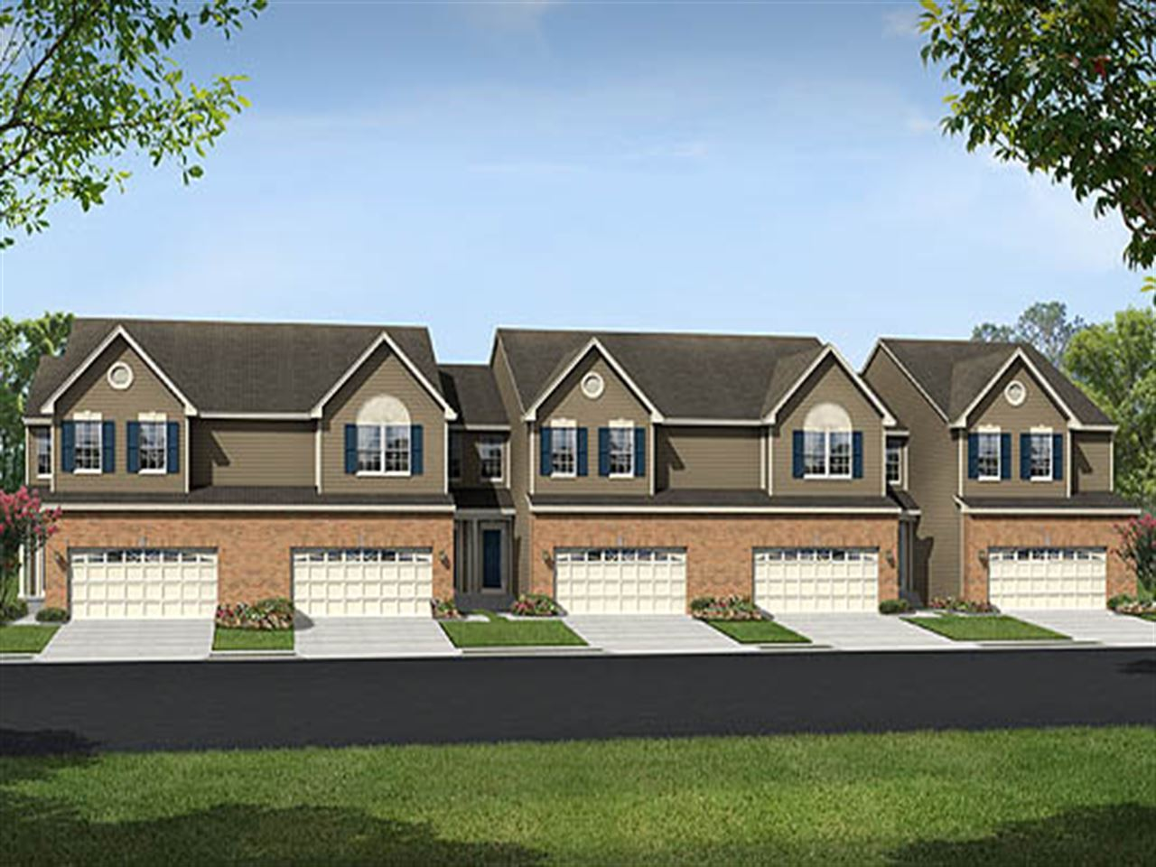 Ridgeway - Beech Creek 2 Car Garage Villas: Aberdeen, MD - Ryland Homes