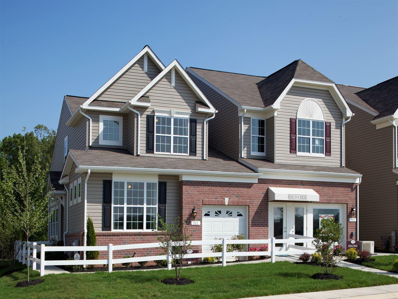 Ryland homes beech creek 2 car garage villas ridgeway for Ryland homes