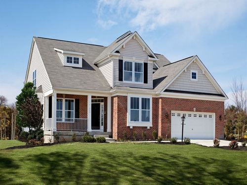 Beech Creek 2 & 3 Car Garage Single Family Homes by Ryland Homes in Baltimore Maryland
