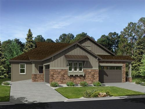 Coal Creek Village North Patio Villas by Ryland Homes in Boulder-Longmont Colorado