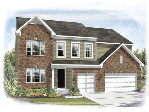 Bay Creek East by Ryland Homes in Indianapolis Indiana