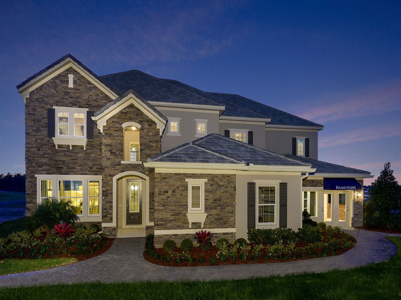 Hickory hammock 90 39 100 39 homesites new homes in winter for Ryland homes