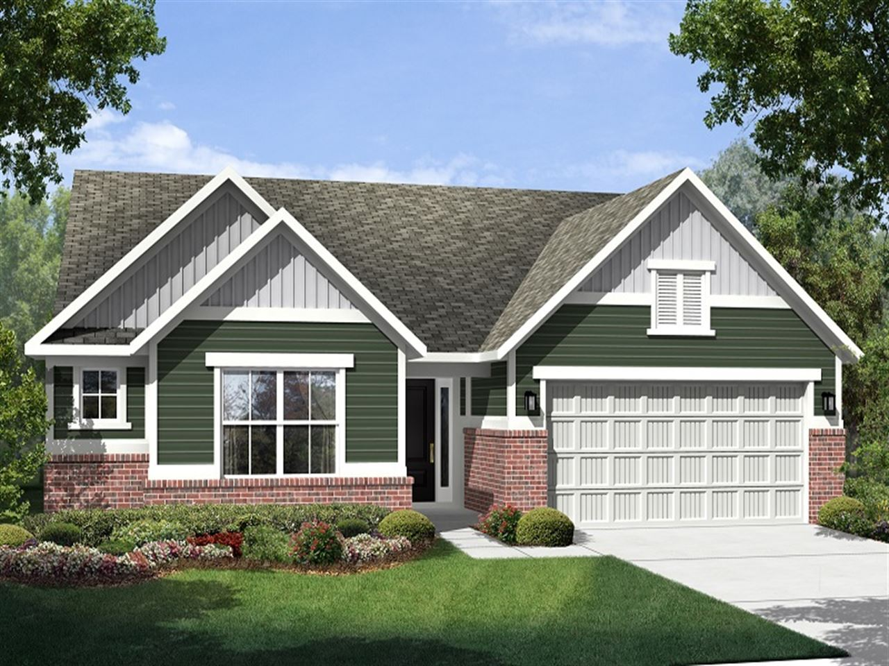 Potomac - The Lakes at Sugar Grove: Plainfield, IN - Ryland Homes