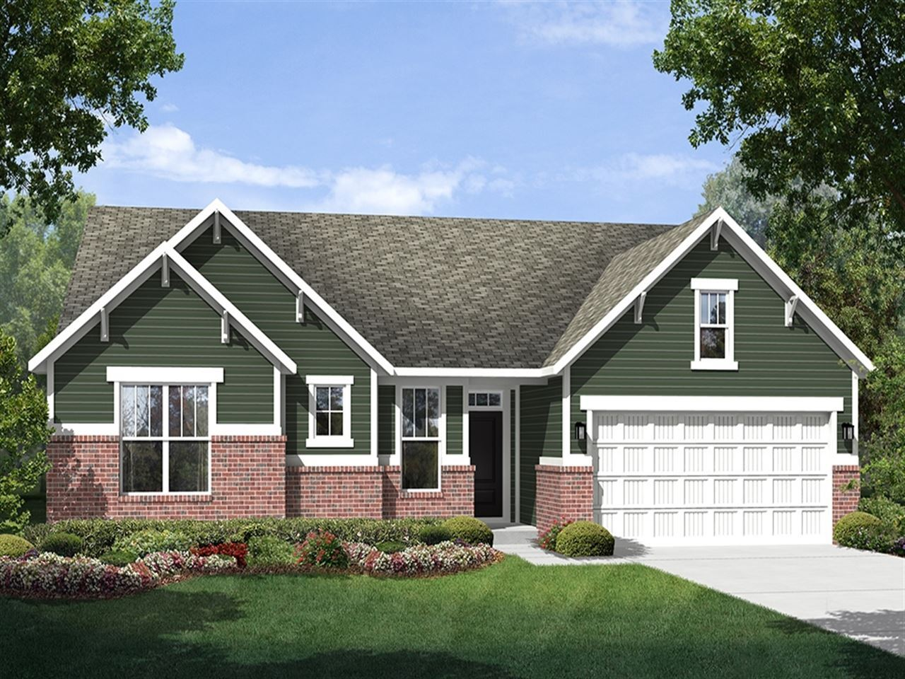 Hatteras - The Lakes at Sugar Grove: Plainfield, IN - Ryland Homes