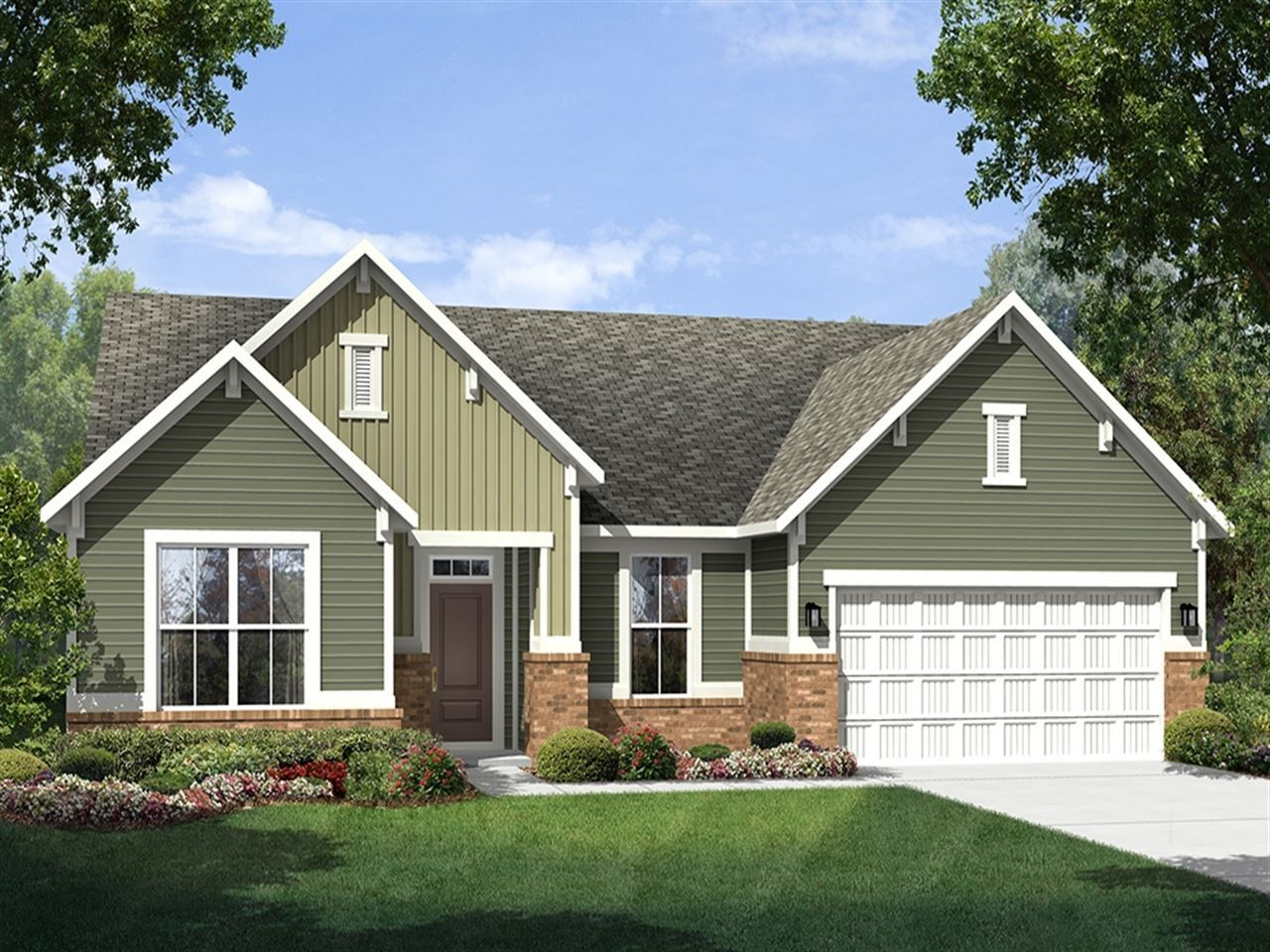 Chesapeake - The Lakes at Sugar Grove: Plainfield, IN - Ryland Homes