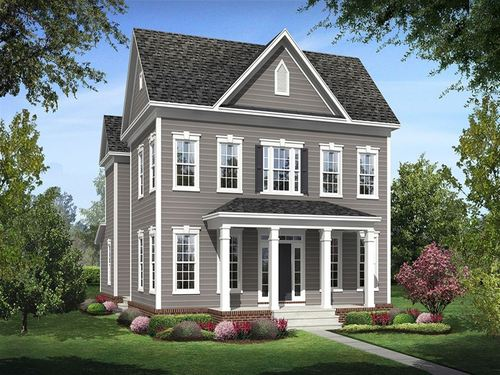 Brick Yard Station Single Family Homes by Ryland Homes in Baltimore Maryland