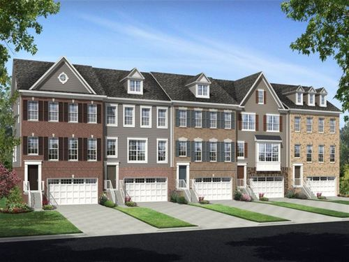 Brick Yard Station 24' Townhomes by Ryland Homes in Baltimore Maryland