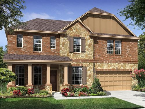 Copperleaf at Falcon Pointe by Ryland Homes in Austin Texas