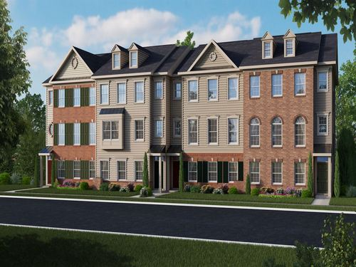 Meridian Crossing Townhomes by Ryland Homes in Philadelphia Pennsylvania