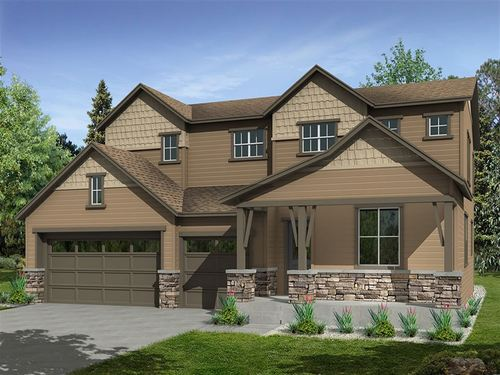 Gardens at Table Mountain Perspectives 5000's by Ryland Homes in Denver Colorado